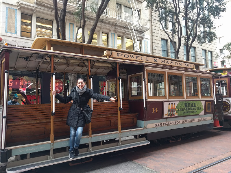 vedere i cable car a San Francisco