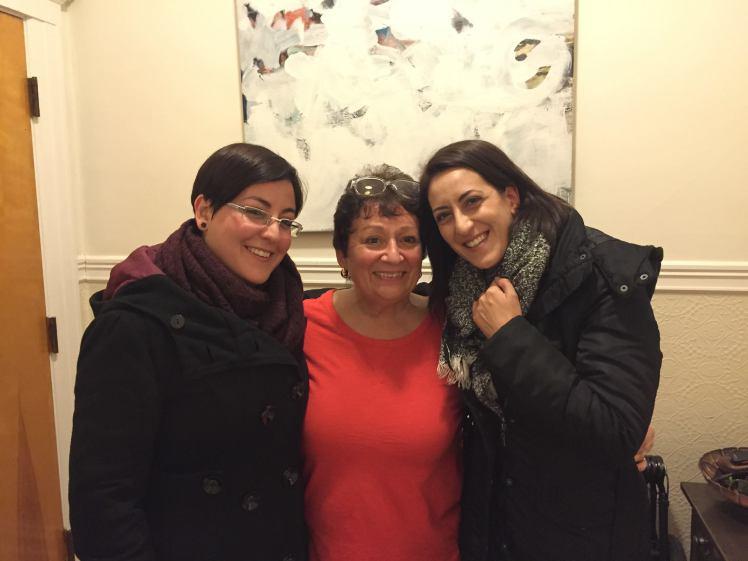 tre amiche ritrovate