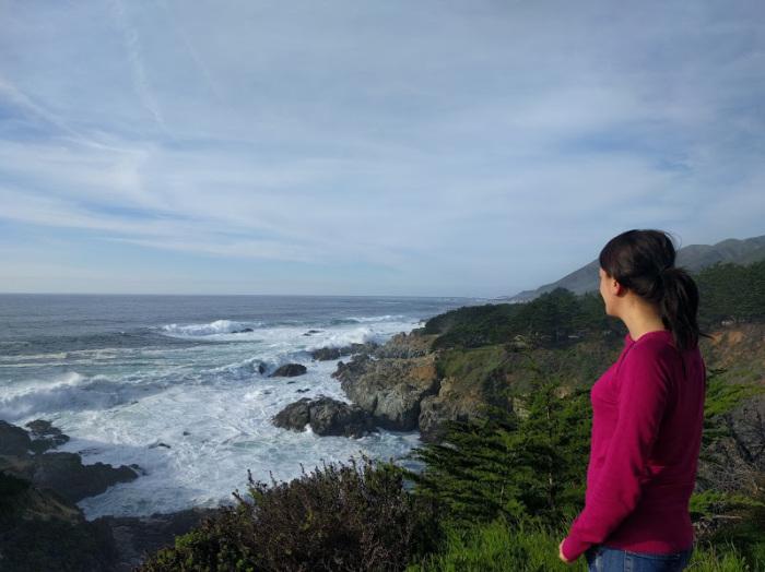 ammirando la potenza del Big Sur
