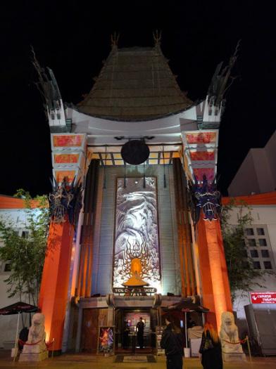 atmosfere cinesi sulla walk of fame