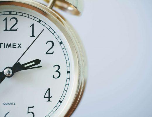 il tempo che scorre
