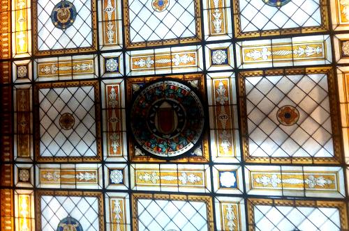 lucente soffitto a vetri