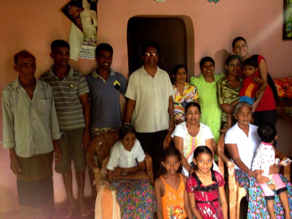 famiglia sri lankese