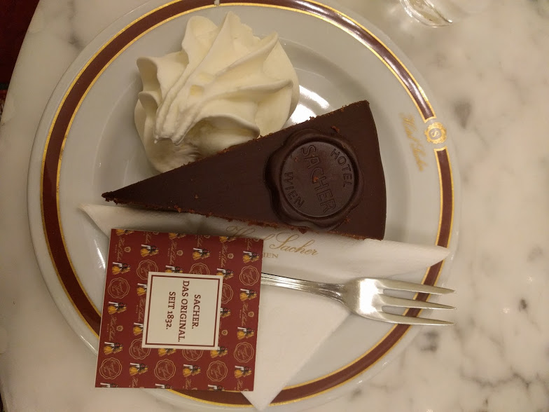 il gusto della Sacher Torte