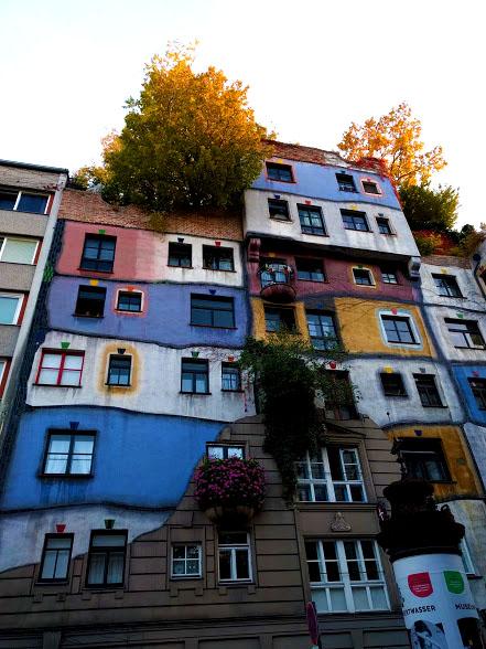 Cosa vedere a Vienna gratis:complesso Hundertwasserhaus Vienna