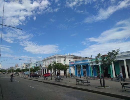 strada principale Cienfuegos