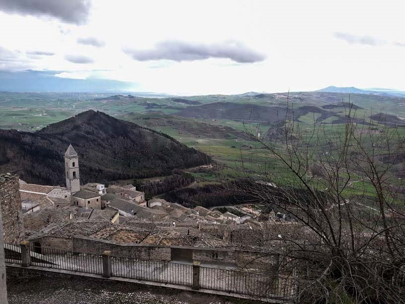 veduta panoramica sui borghi dei Monti Dauni