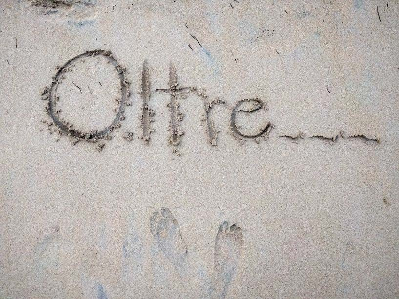 oltre nella sabbia a Playa Larga