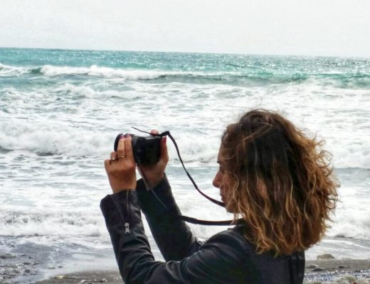 fotografando il mare d'innverno
