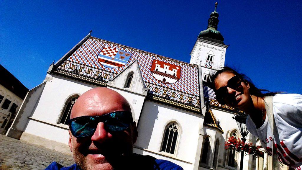 tetto a mosaico su Chiesa