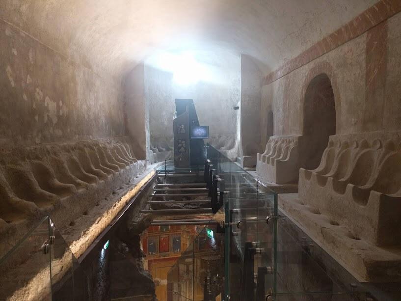 la grandiosità della Villa Romana di Positano