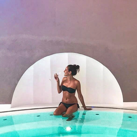 una venere di Botticelli presso l'Hotel e SPA in Costiera Amalfitana