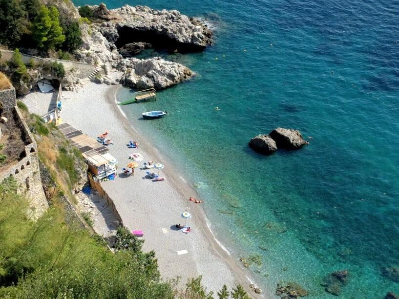 Spiaggia La Vite - Costiera Amalfitana