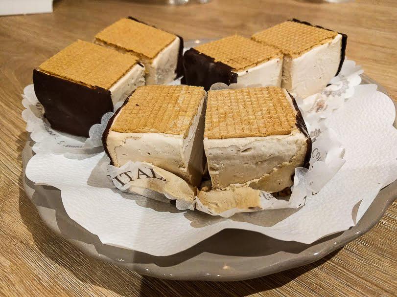 il gusto del gelato a cubetti