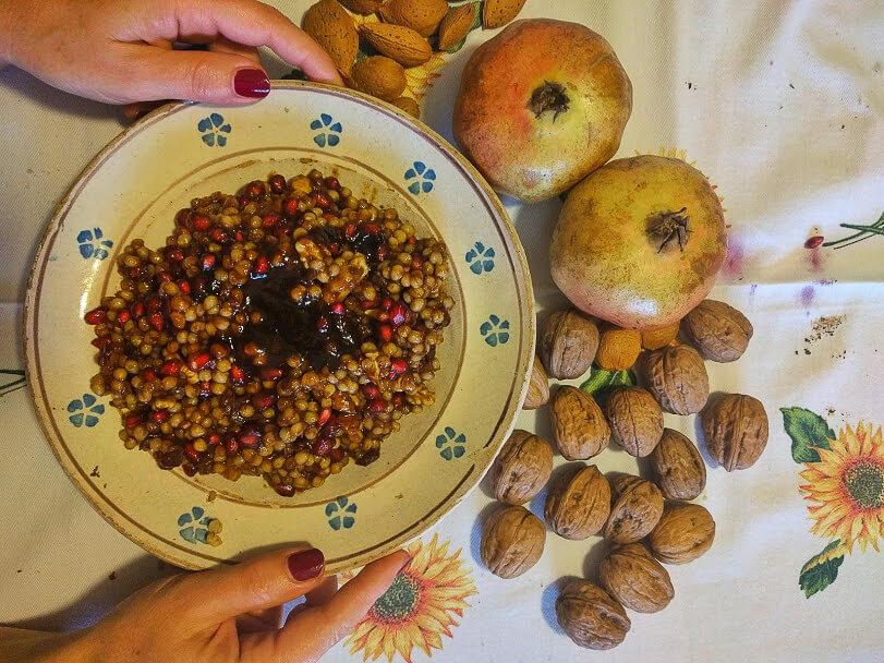 prelibatezze autunnali in occasione dei riti di Ognissanti in provincia di Foggia