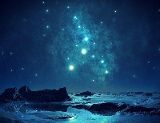 il romanticismo di un cielo stellato