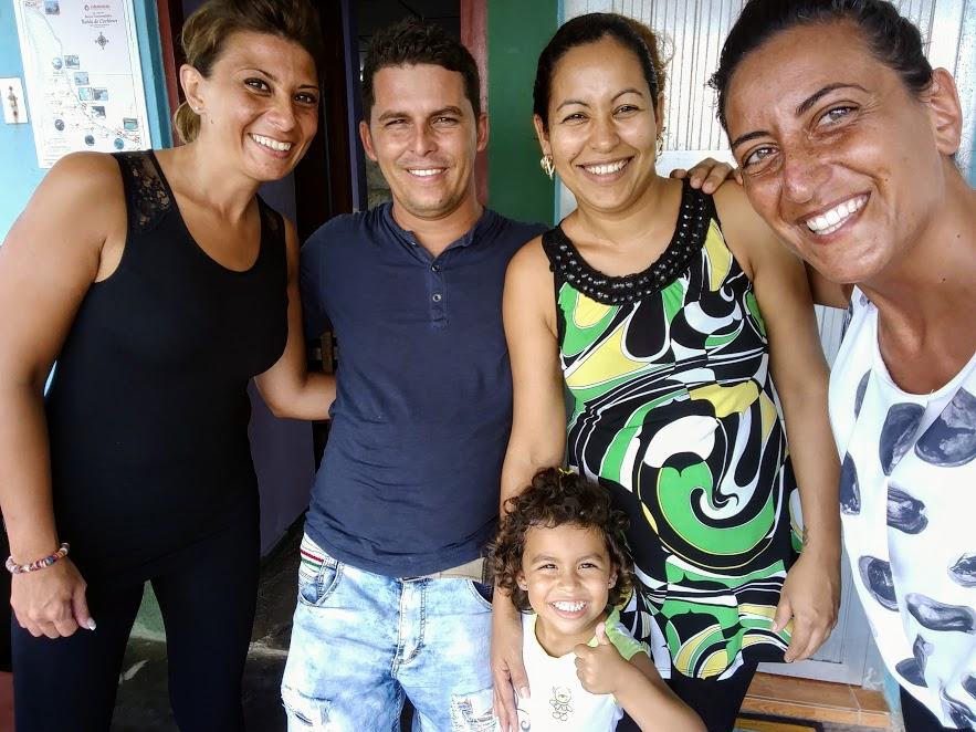 il calore delle case particular a Cuba