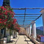 la primavera in fiore a villa Rufolo