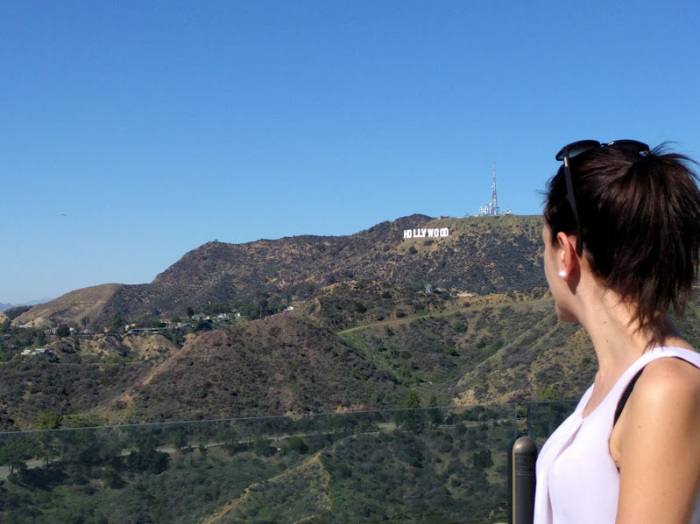 l'Hollywood sign di Los Angeles
