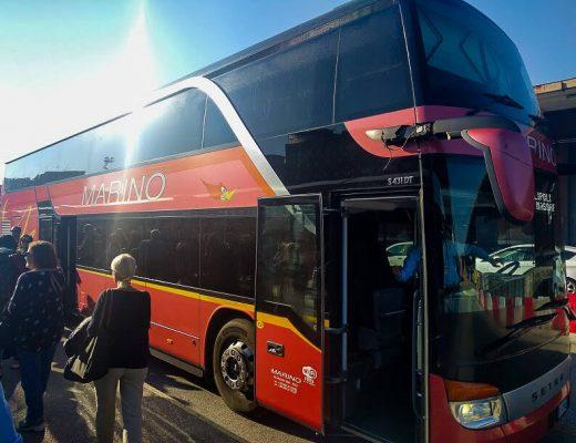 bus di linea MarinoBus