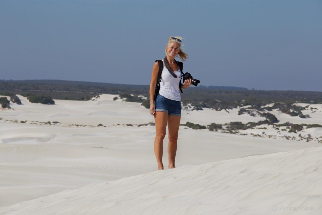 scrivere di viaggio per ispirare nel deserto