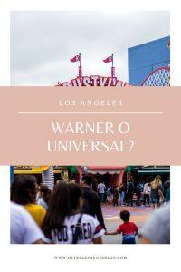 warner o universal studios a LA
