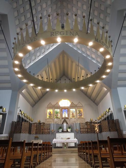 Santuario dell'Incoronata nei dintorni di Foggia