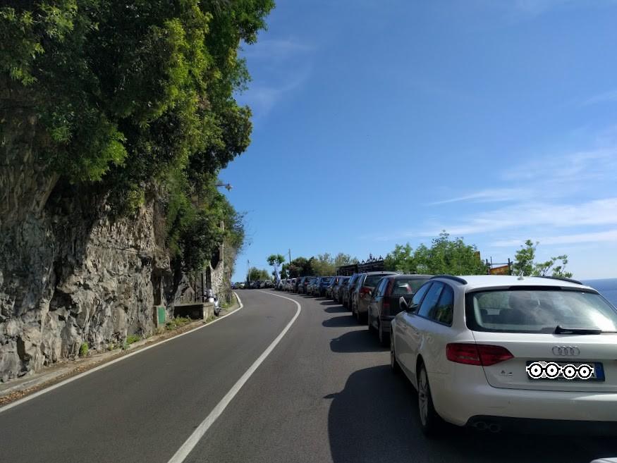 dove trovare parcheggio a Positano