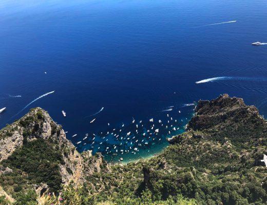 panorama dal Monte Solaro di Capri