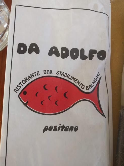 cosa fare a Positano: mangiare Da Adolfo