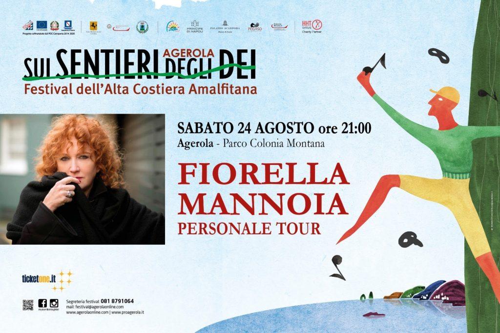 Eventi ad Agerola: Fiorella Mannoia in concerto