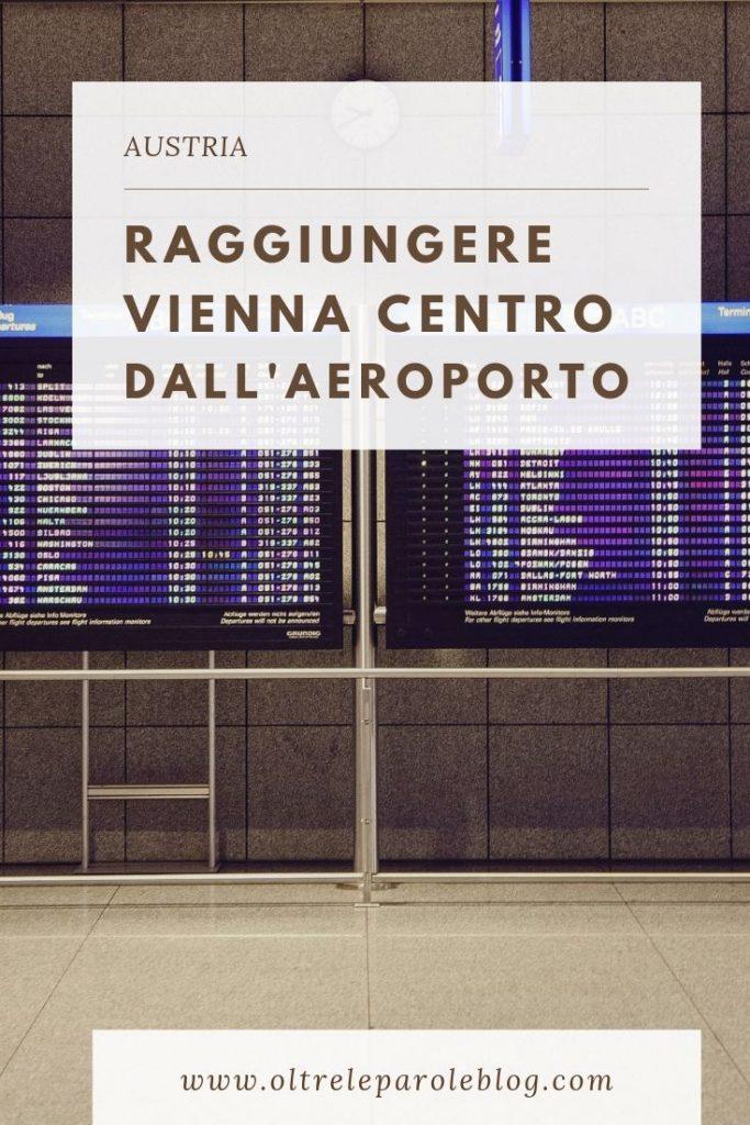 Raggiungere Vienna centro dall'aeroporto e viceversa