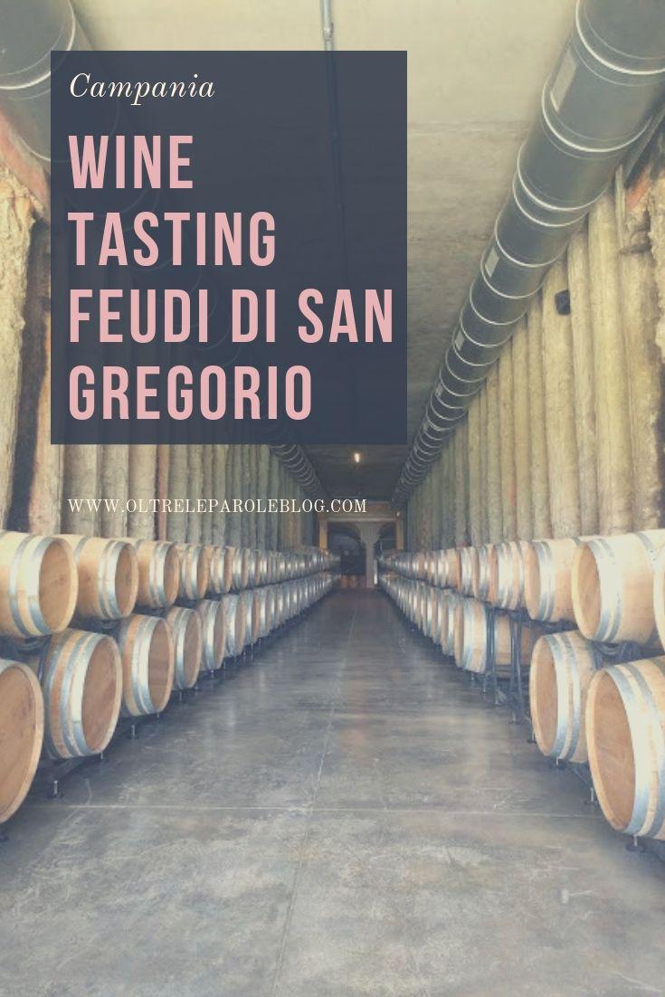 Wine tasting Feudi di San Gregorio in Irpinia