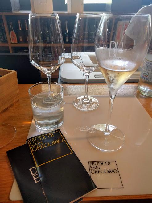 Wine tasting Feudi di San Gregorio Irpinia