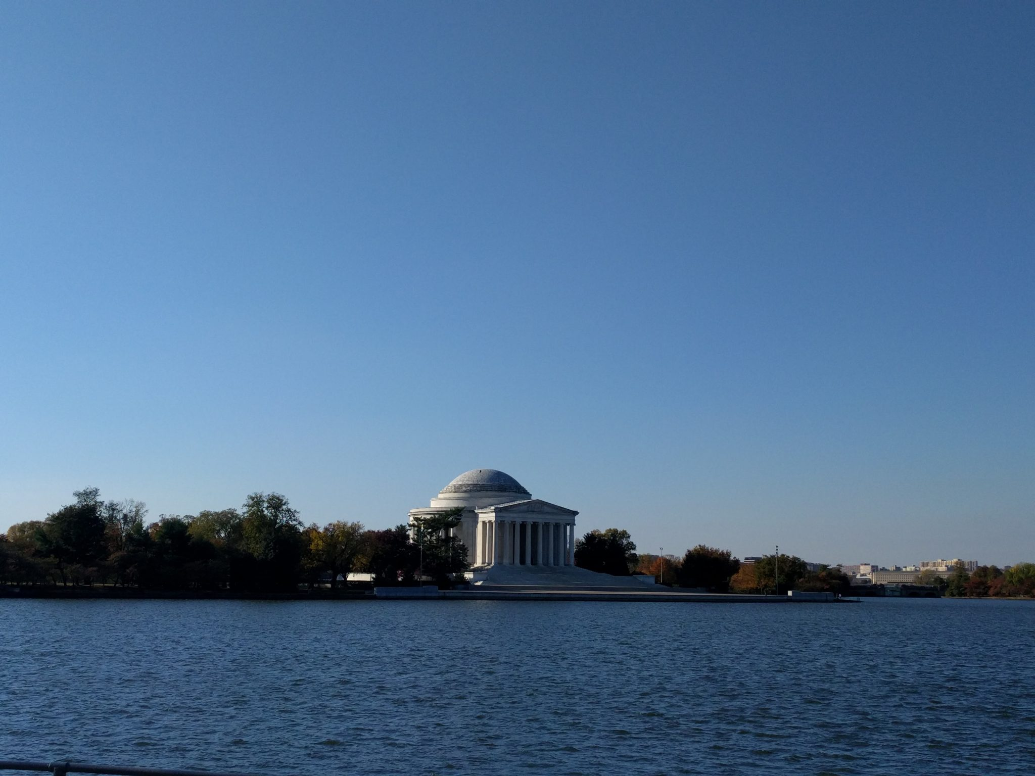 Jefferson Memorial al National Mall di Dc