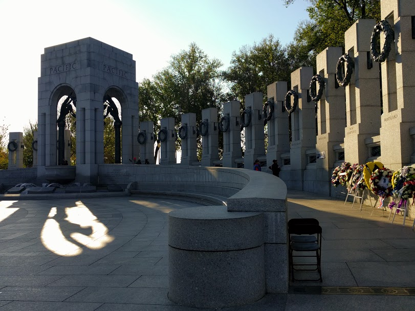 National Mall DC: Memoriale seconda guerra Mondiale