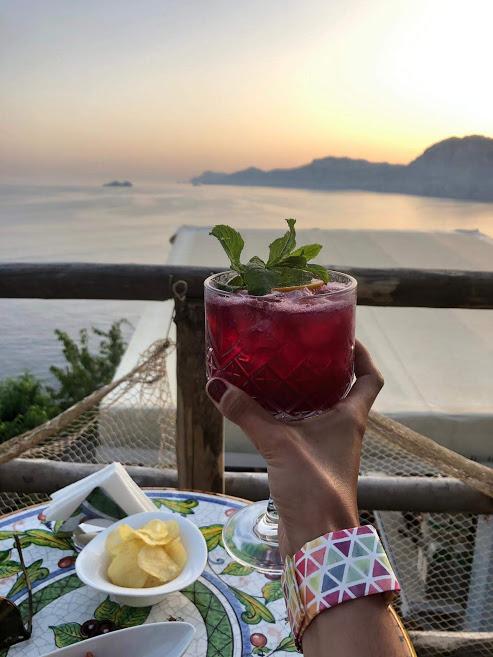Drink al tramonto a Praiano 2 weekend a Praiano