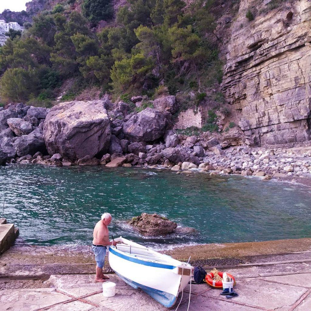 Pescatore alla Gavitella weekend a Praiano