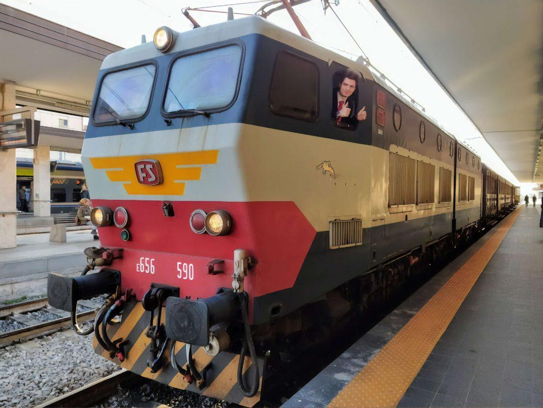 Viaggi in treno storico in Italia