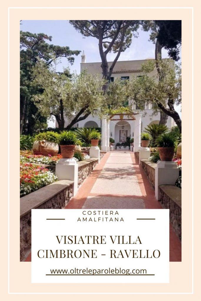 Ravello Villa Cimbrone 1 Villa Cimbrone a Ravello