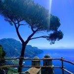 Veduta di Ravello da Villa Rufolo visitare Villa Rufolo
