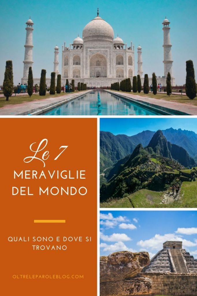 7 MERAVIGLIE DEL MONOD meraviglie del mondo moderno