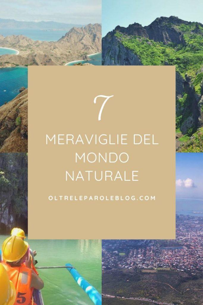 7 meraviglie del mondo naturale sette meraviglie del mondo naturale