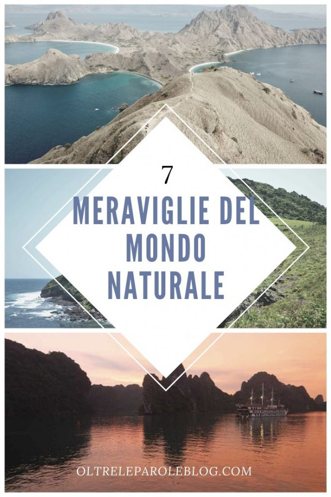 7 meraviglie naturali sette meraviglie del mondo naturale