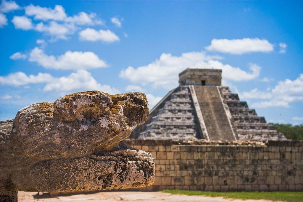 Sito archeologico Chichen Itza in Messico.