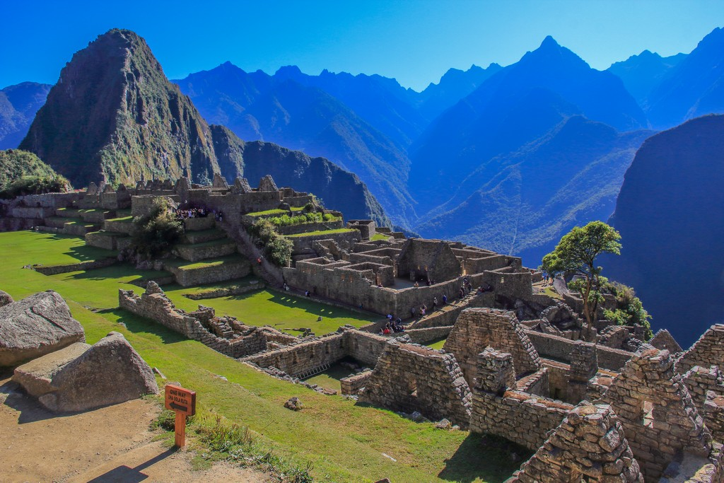 Tra le sette meraviglie del mondo Machu Picchu in Perù