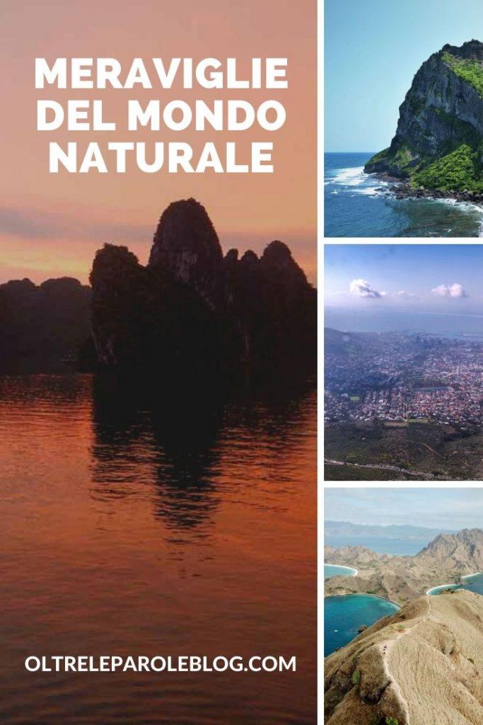 meraviglie naturali sette meraviglie del mondo naturale