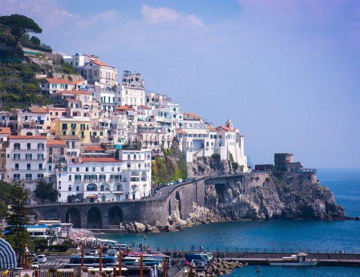 Vista di Amalfi