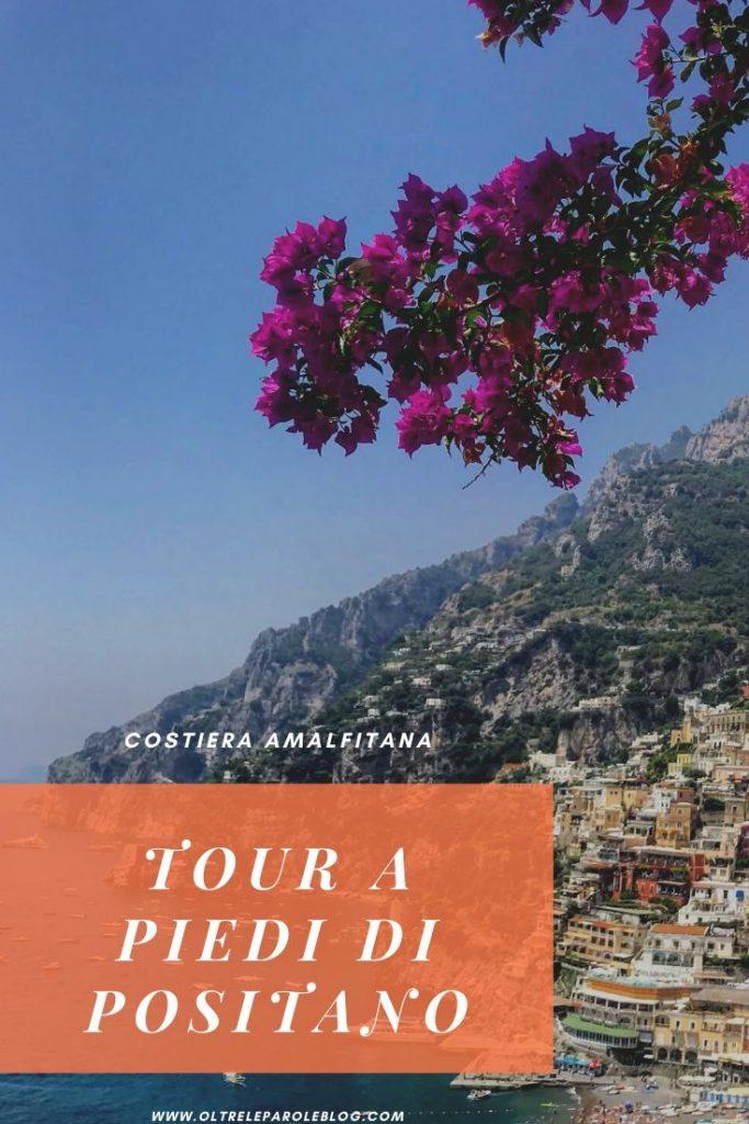 Itinerario a piedi di Positano tour a piedi di Positano