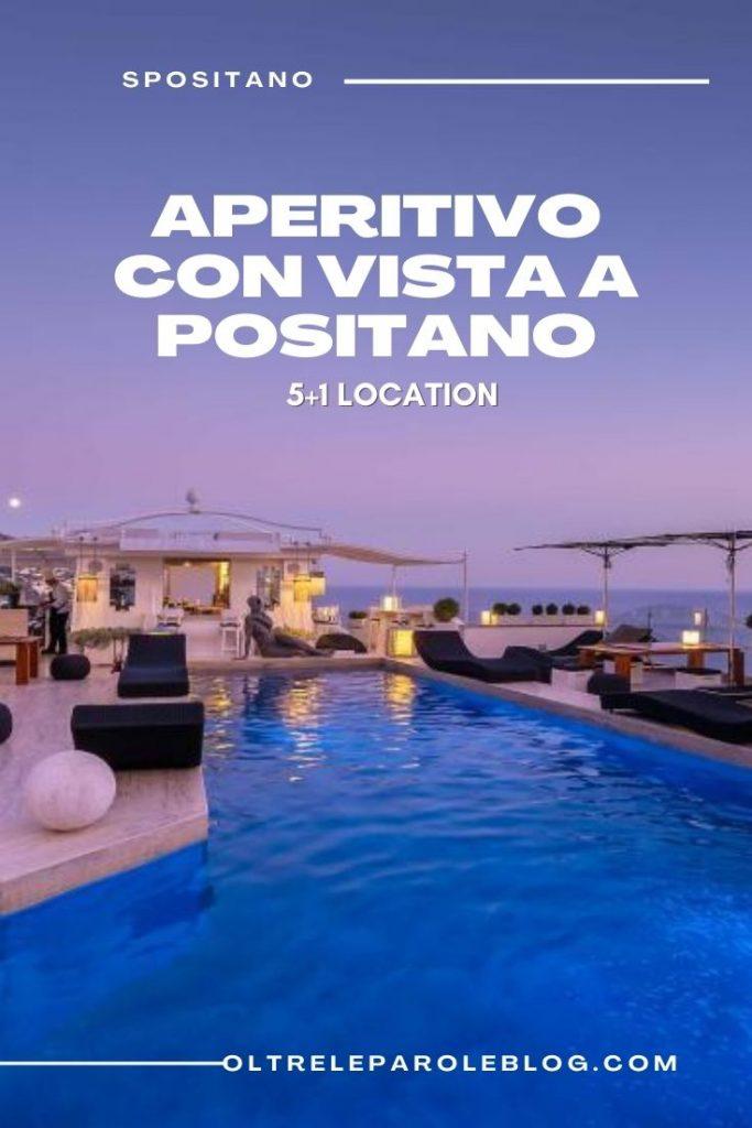 Gallis sky Bar Positano Hotel aperitivo con vista a Positano